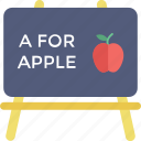 a for apple, basic english, nursery rhymes, phonics icon
