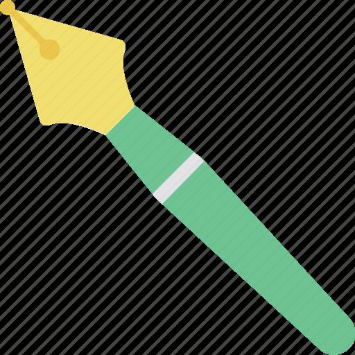 ballpoint pen, fountain pen, ink pen, pen, stationery icon