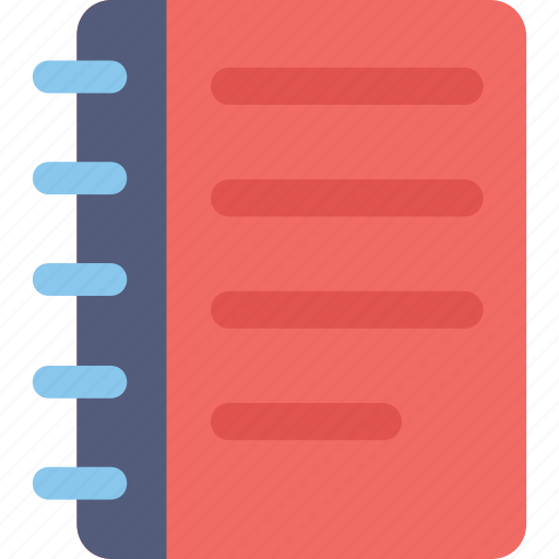 Jotter, notebook, notepad, notes, writing pad icon - Download on Iconfinder