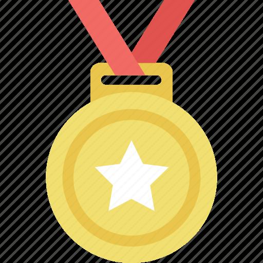 medal, prize, ranking, reward, winner icon