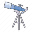 astronomer, astronomy, gazing, space, star, telescope, watching icon