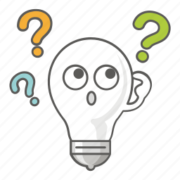 bulb, idea, innovation, light, revelation, think, thought icon