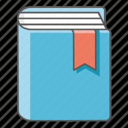 book, bookmark, diary, journal, novel, study, textbook icon