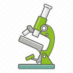 biology, magnification, magnify, microscope, optical, research icon