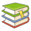 library, reading, resources, school, study, textbooks icon