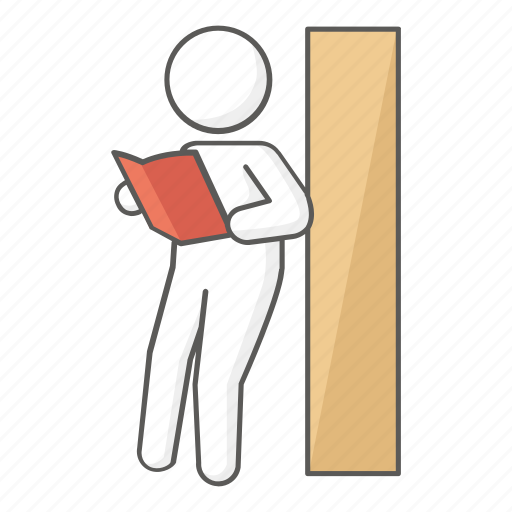 book, browsing, read, reader, reading, student, study icon