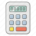 calcuate, calculator, mathematics, maths, numbers, sums icon