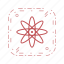 molecule, nuclear, structure icon
