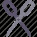 cut, cutter, cutting, scissors icon