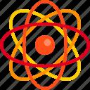 atom, chemistry, laboratory, medical, physics, science icon