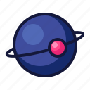 astronomy, collage, education, planet, school, sience, space icon