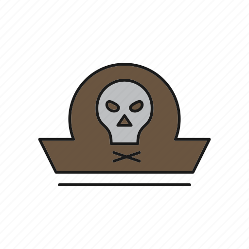 clothing, hat, pirate icon