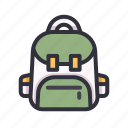 education, bag, student, study, school, backpack