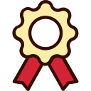 award, certificate, education, emblem, medal icon