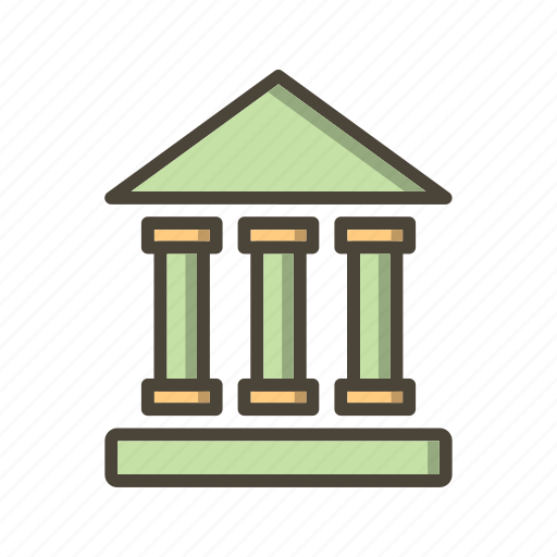educational institute, school, university icon