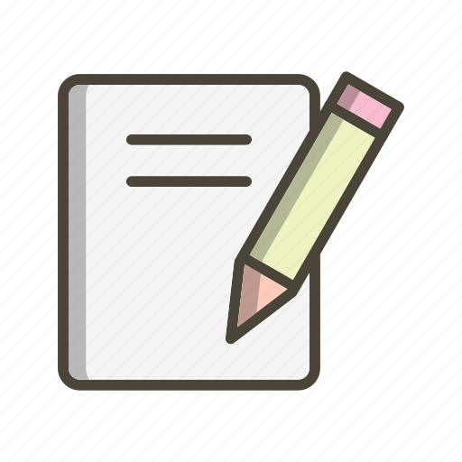document, education, notes, paper icon