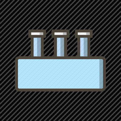 flask, lab, laboratory, test tube icon