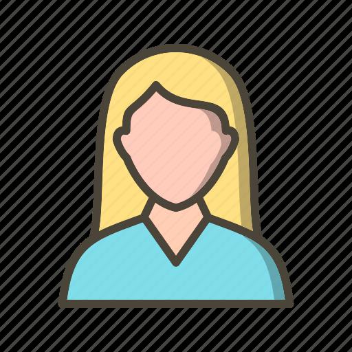 avatar, female student, student icon