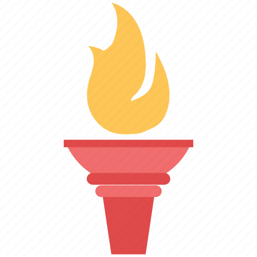 Fire, flame, olympic fire, olympic torch, torch fire icon - Download on Iconfinder