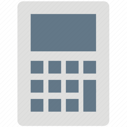 calculating frame, calculation machine, calculator, digital calculator, electronics calculator, pocket calculator icon