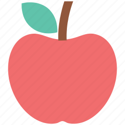 apple, diet, education, food, fruit, nutrition icon