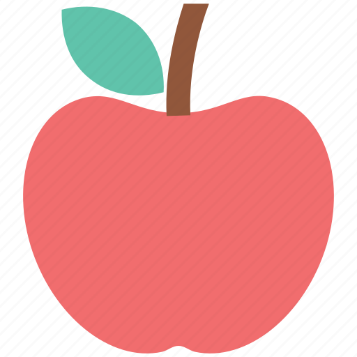apple, diet, education, food, fruit, nutrition icon