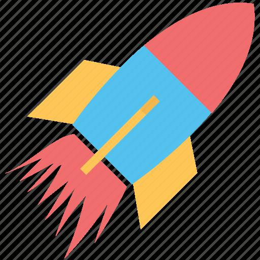 Missile, rocket, rocket launch, spacecraft, spaceship icon - Download on Iconfinder