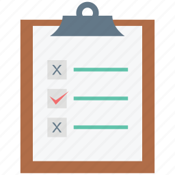 checklist, clip paper, clipboard, doc, document, note, text sheet icon