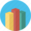 analysis, analytics, business, chart, currency, finance, graph icon