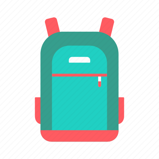 carrier, education, luggage, school bag, student icon