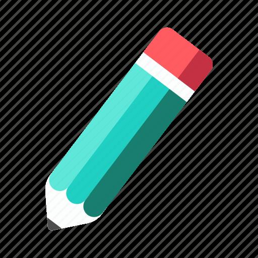 draw, edit, pencil, school material, writing icon