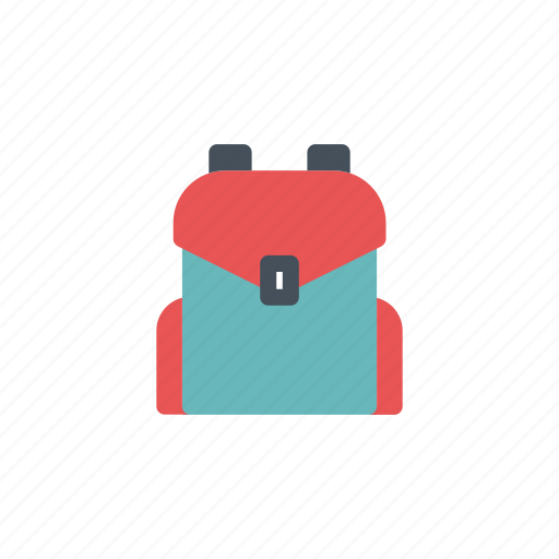 Backpack, bag, education, hiker, luggage, school, travel icon - Download on Iconfinder