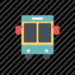 bus, bus college, school car, school icon, school transportation icon