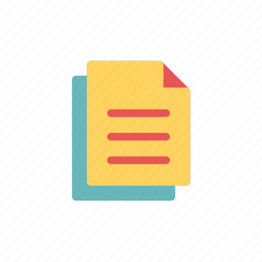document, learn, learning, note, paper, report, task icon