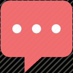 bubble, chat, chat balloon, chat bubble, comments, message, speech bubble icon