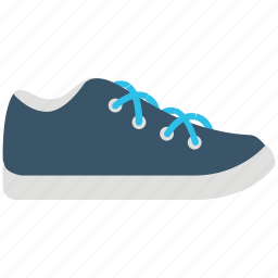athletic shoes, footwear, gumshoes, sneakers, sportswear, trainer shoes icon