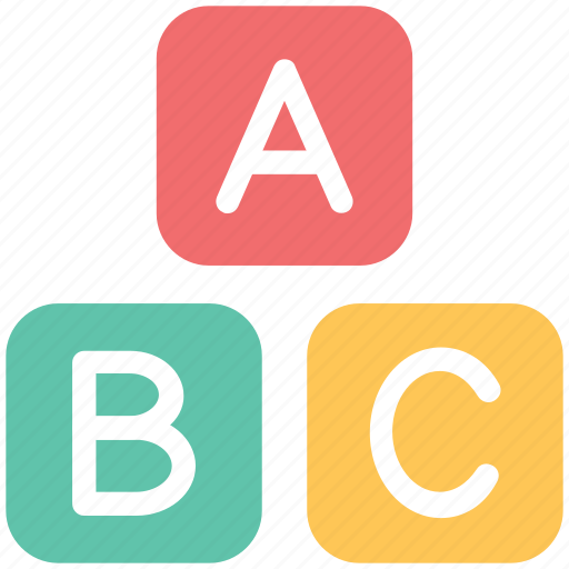 Abc, abc blocks, alphabet, alphabet blocks, blocks, cubes icon - Download on Iconfinder