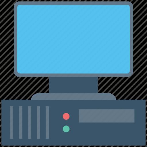 computer, desktop pc, monitor, pc, personal computer icon
