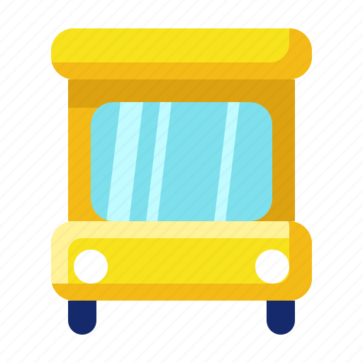 bus, collage, education, school, sience, transportation icon