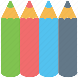 art, artist, color pencils, color picker, colors, drawing, pencils icon
