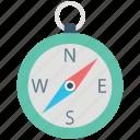 compass, gps, location compass, locator, navigation, navigator icon