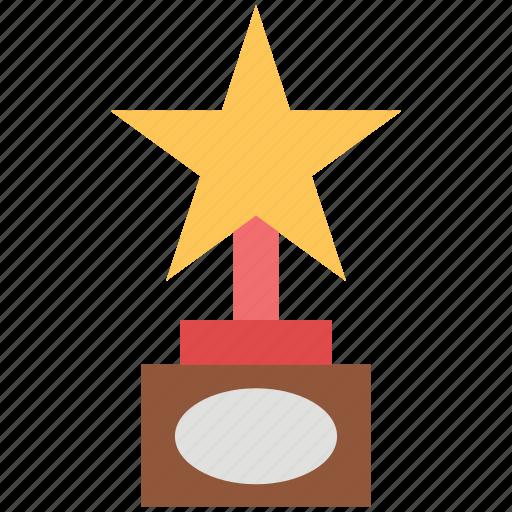 award, champion, medal, prize, star award, winning icon