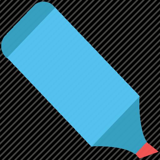 board marker, color fill, felt-tip, highlighter, marker, pen, stationery icon
