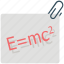 equation, formula, learning, math, math question, mathematics icon