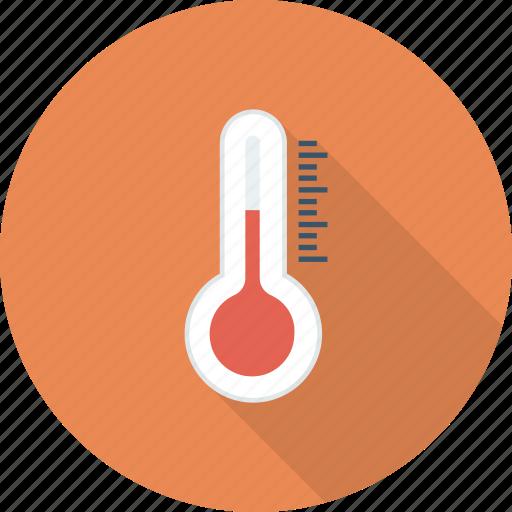 heat, temperature, temperature measurer, thermometer icon icon