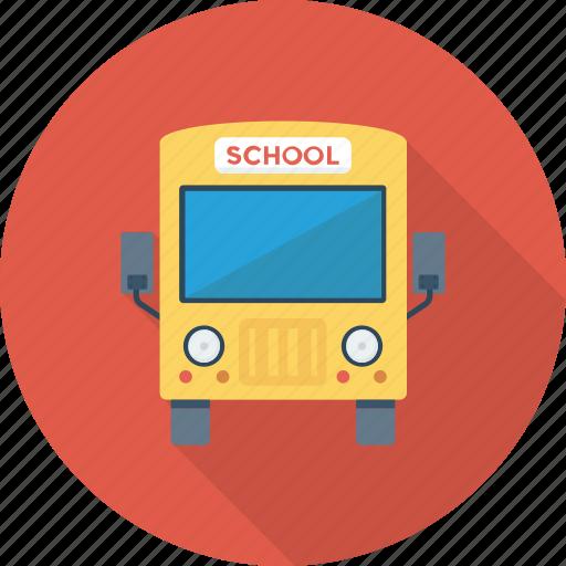 bus, school bus, travel, vehicle icon icon