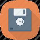 backup, disk, floppy, save icon, storage