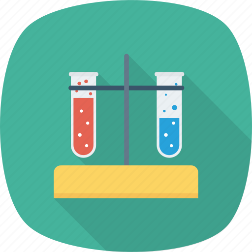 chemistry, experiment, science, technology, tube icon icon