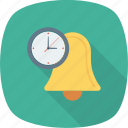 alarm, alert, bell, deadline, time, timer, warning icon icon