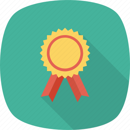 award, award badge, badge, ribbon badge, star badge icon icon